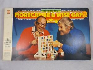 Morecambe And Wise Board Game 1976 Vintage Denys Fisher Complete
