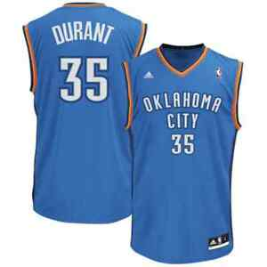 💯% Genuine Kevin Durant adidas Replica Jersey Youth large - Blue