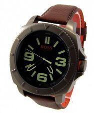 Hugo Boss Orange señores reloj Chrono acero inoxidable sao paulo 1513164 XXL 50mm > > nuevo