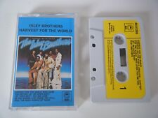 ISLEY BROTHERS HARVEST FOR THE WORLD CASSETTE TAPE 1976 PAPER LABEL EPIC T-NECK