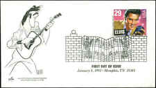US FDC #2721 Artcraft Severe #2 Hirschfeld Cachet Memphis, TN  Elvis Presley