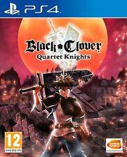 Black Clover Quartet Knights (PS4) Out 14th Sept New & Sealed UK PAL