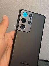 New listing Samsung Galaxy S21 Ultra 5G Sm-G998U - 128Gb - Phantom Black (Unlocked)