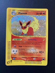 Flareon H7 Rare Holo Skyridge 2003 Near Mint Pokemon Card