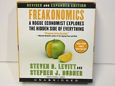 Freakonomics Revised and Expanded Edition Unabridged ~ 7 CD's SET