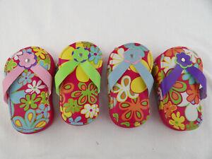 Manicure Pedicure Set Kit Nail Care Tools FlipFlop Flower Case Scissor Nail File