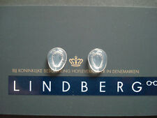 Lindberg silicone nose pads ''tear shaped'' standard size 8mm