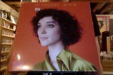 St. Vincent Actor LP sealed vinyl + mp3 download 4AD Saint Vincent