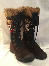 NEW Women's MUK LUKS Thinsulate Tall Lace Up Snow Boot Size 10