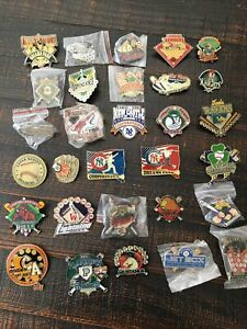 Coopestown Team Pin Lot 30 In All Great Collection Of Baseball Pins