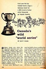 Cfl 1960 Grey Cup Rivalry History Canadian Football League Vancouver Host