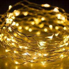 30/50/100 LED String Copper Wire Fairy Light Battery Powered Waterproof Lights