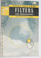 Kodak Data Book Filters and  Pola-Screens 1946 4-47-CH - English - USED B79