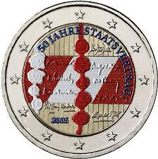 Österreichische Münzen nach Euro-Einführung aus Bi-Metall