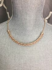 $110 KENDRA SCOTT Lucy Choker Necklace In Rose Gold Plated NWT