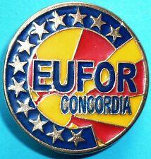 Insigne de l'opération CONCORDIA de l'EUFOR