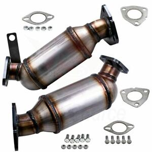 New Front Driver and Passenger Catalytic Converter For 2009-2011 GMC Acadia 3.6L