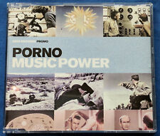 Porno Music Power UK CD Promo 7 Mixes Stefano Noferini Syke Sugarstarr 2005