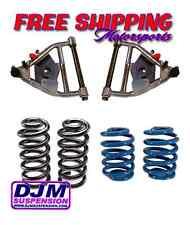 DJM Suspension 5-5 Drop Kit Chevy C10 63-72 Lowering Coils Springs Control Arms