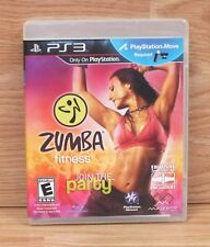 Genuine Zumba Fitness Join The Party For PlayStation Move W/ Fitness Band *READ*