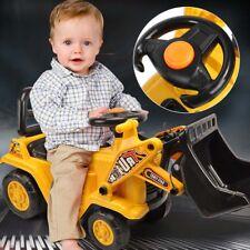 Kids Ride on Bulldozer Toy Baby Safe Push Toddler Walker Balance Car Xmas Gift