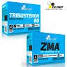 TRIBUSTERON60 & ZMA 30/240 Strong Testosterone Booster & Mineral Anabolic Pills