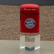 V-Fire Feuerzeug Easy Torch Rubber 3D Relief FC Bayern München rot - Jet Flame