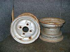 HONDA FRONT WHEELS RIMS PAIR 4-BOLT 8X5.5 TRX90 TRX 90 FOURTRAX SPORTRAX 1993-05