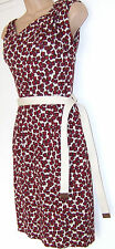 LOVELY MANGO RED DRESS LINED BNWT SIZE UK S. D-USA XS. MEX P