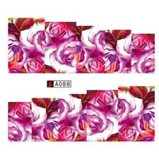 Floral Nail Art (Water Decal Wraps) Flowers Nail Art Decals