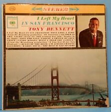 TONY BENNETT I LEFT MY HEART IN SAN FRANCISCO 1962 RE 70 GREAT COND! VG++/VG!!A