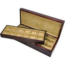 Canfora Burl Wood Veneer 24 gemello confezione da hillwood UK Ltd RRP £ 175