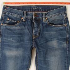 Mens Tommy Hilfiger HUDSON Straight Blue Jeans W30 L34
