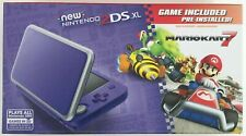 New Nintendo 2DS XL Purple/Silver Brand New Sealed Console 3DS Mario Cart 7