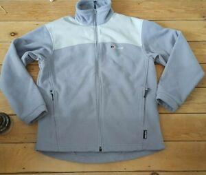 Womens Berghaus Windstopper Fleece Jacket  Zip Up  Grey Size 14 /Medium .