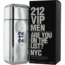 212 VIP Men By Carolina Herrera 3.4 Oz EDT Spray New In Box Sealed Cologne Men