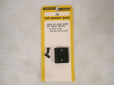 """Weaver Scope Base #08079 """"79"""" for the Ruger Model 77 SMT Rifle Round Receiver"""