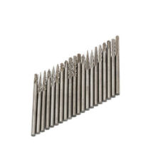 20Pcs Tungsten Carbide Burr Rotary Drill Bits Tools Cutter Files Shank 2.35mm
