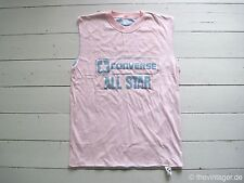 NOS 90s CONVERSE ALL STAR REVERSIBLE Box Sleeveless Shirt True Vintage Cons Gay