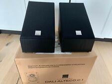 DALI ALTECO C-1 Surround Heimkino Lautsprecher 3D-Sound Dolby Atmos PAAR Schwarz
