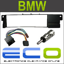 BMW 3 Series E46 1998-2002 Fascia Panel Car Stereo Radio Fitting Kit BLACK