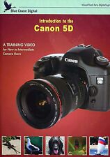 Blue Crane Training DVD: Introduction to the Canon 5D