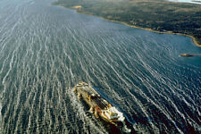794047 Hugh Oil Tanker Taking Crude Oil Out Of The Strait Of Canso Nova Scotia C