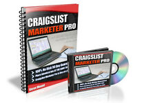 Craigslist Marketer Pro - Video & PDF e-book + Craigslist Cash Cow + 3 bonuses
