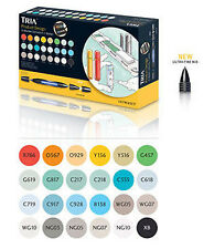 Letraset Tria Marker - 24 Pen Set - Product Design