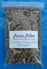 """1 kg de 11 mm XL Flottant Pond Fish Food """"Passion Pellets"""" KOI CARPE POISSON ROUGE IDE"""