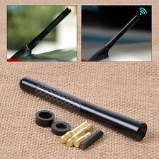 Auto Antenne Dachantenne kurz schwarz FM/AM Carbon-Faser mit Schraube Universal