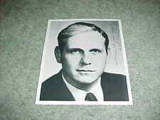 Louisiana Governor Dave Treen Autographed Signed Photo with inscription