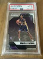 2016 Brandon Ingram Panini Prizm Rookie RC Card #131 PSA 10 GRADED GEM MINT 📈