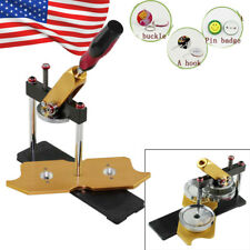 Rotary Badge Button Maker Machine Mold Circle Cutter Metal Punch Tool 58mm Mould